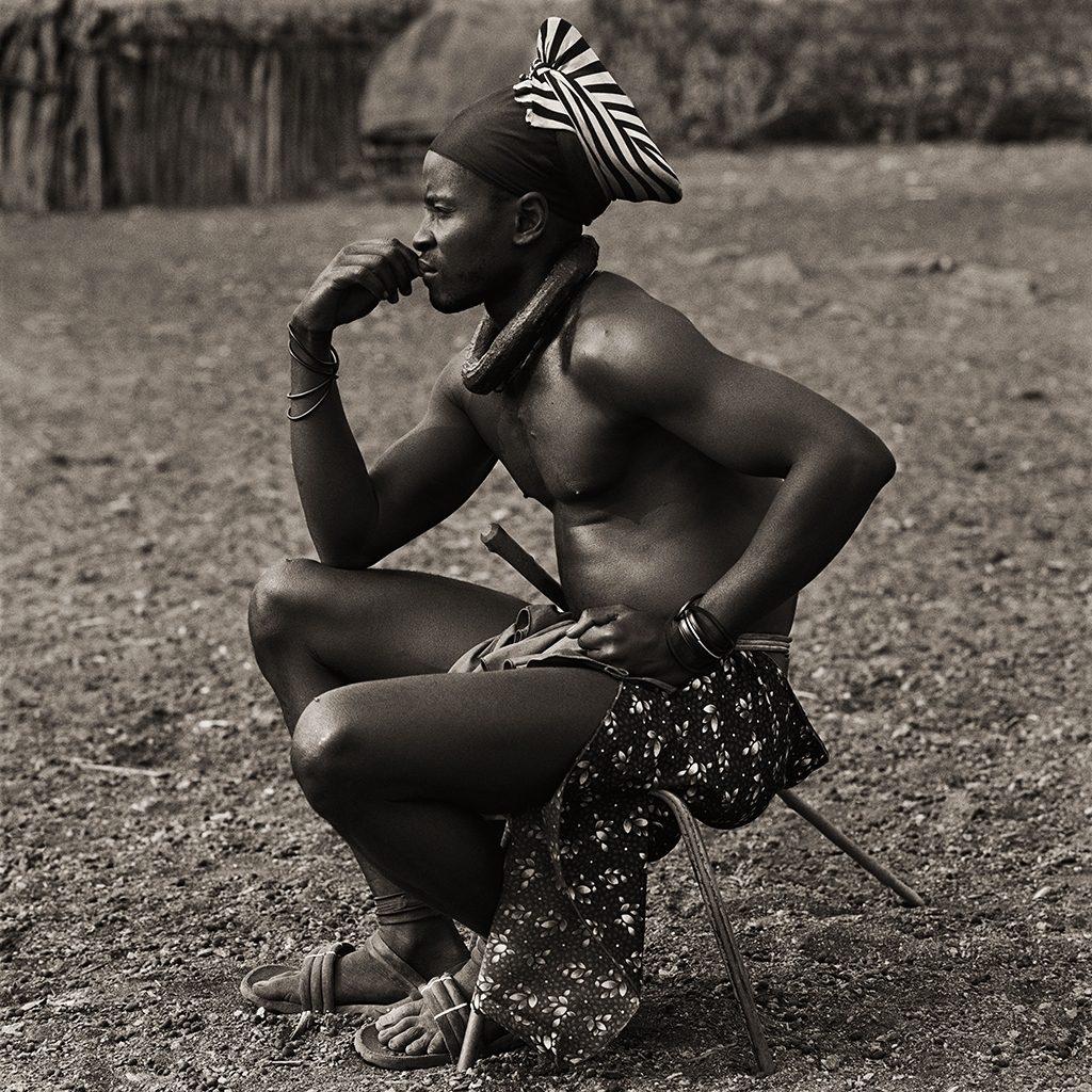 Himba Headman's Son, Namibia