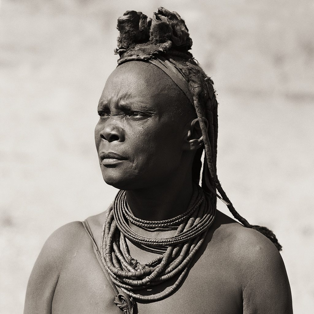 Himba Woman (with cowhide headdress), Namibia