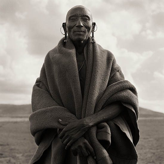 Masai Chief, Kenya