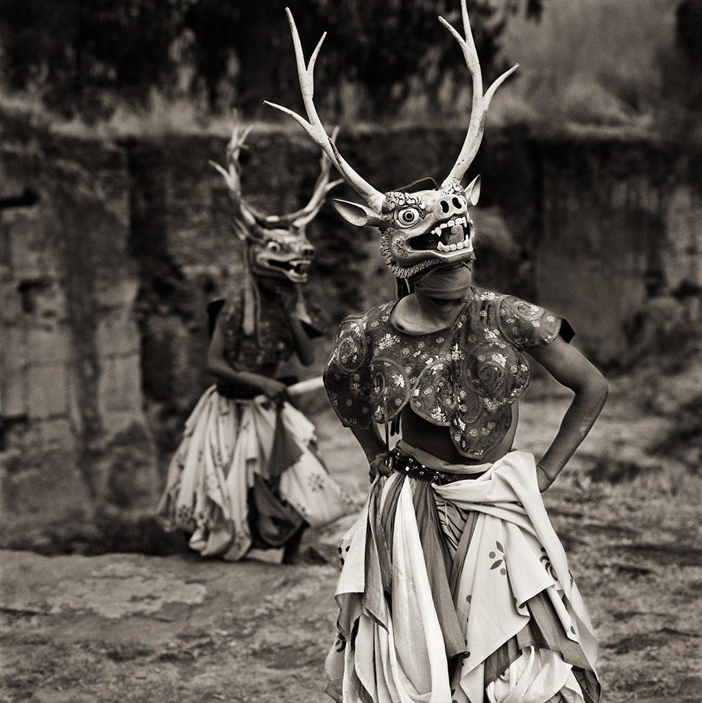 Dancers, Bhutan