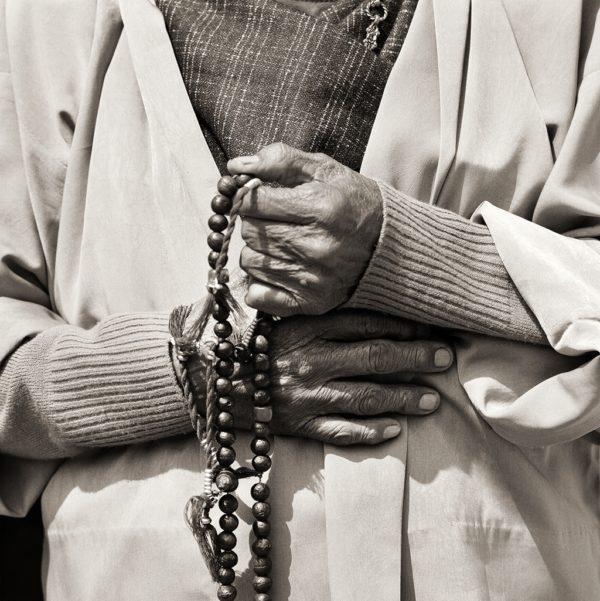Elder Woman (hands), Bhutan