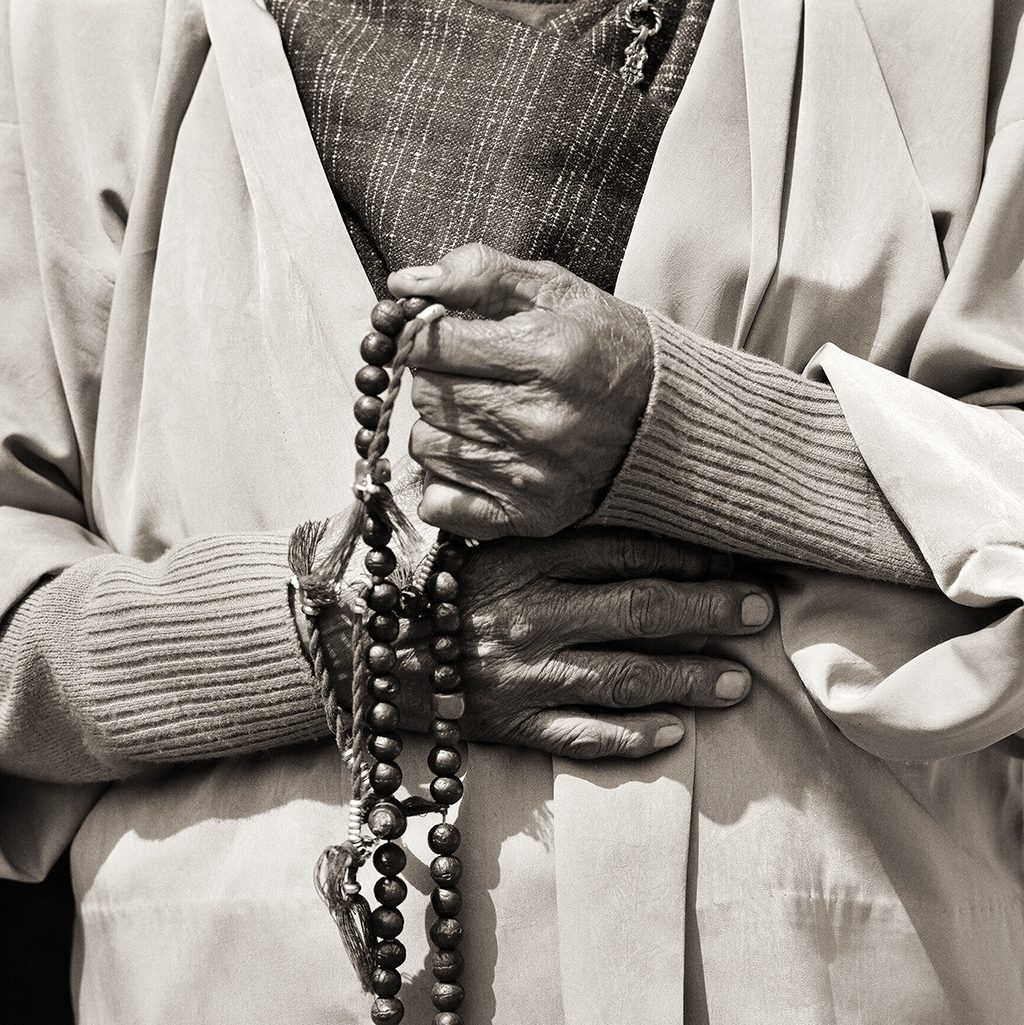 Elder Woman (hands), Bhutan