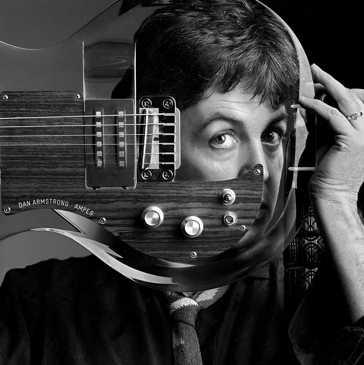 Paul McCartney, Plexiglass Guitar, Studio London