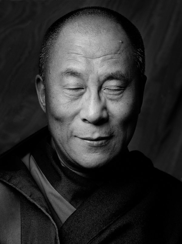 HH Dalai Lama (Eyes Closed), NY
