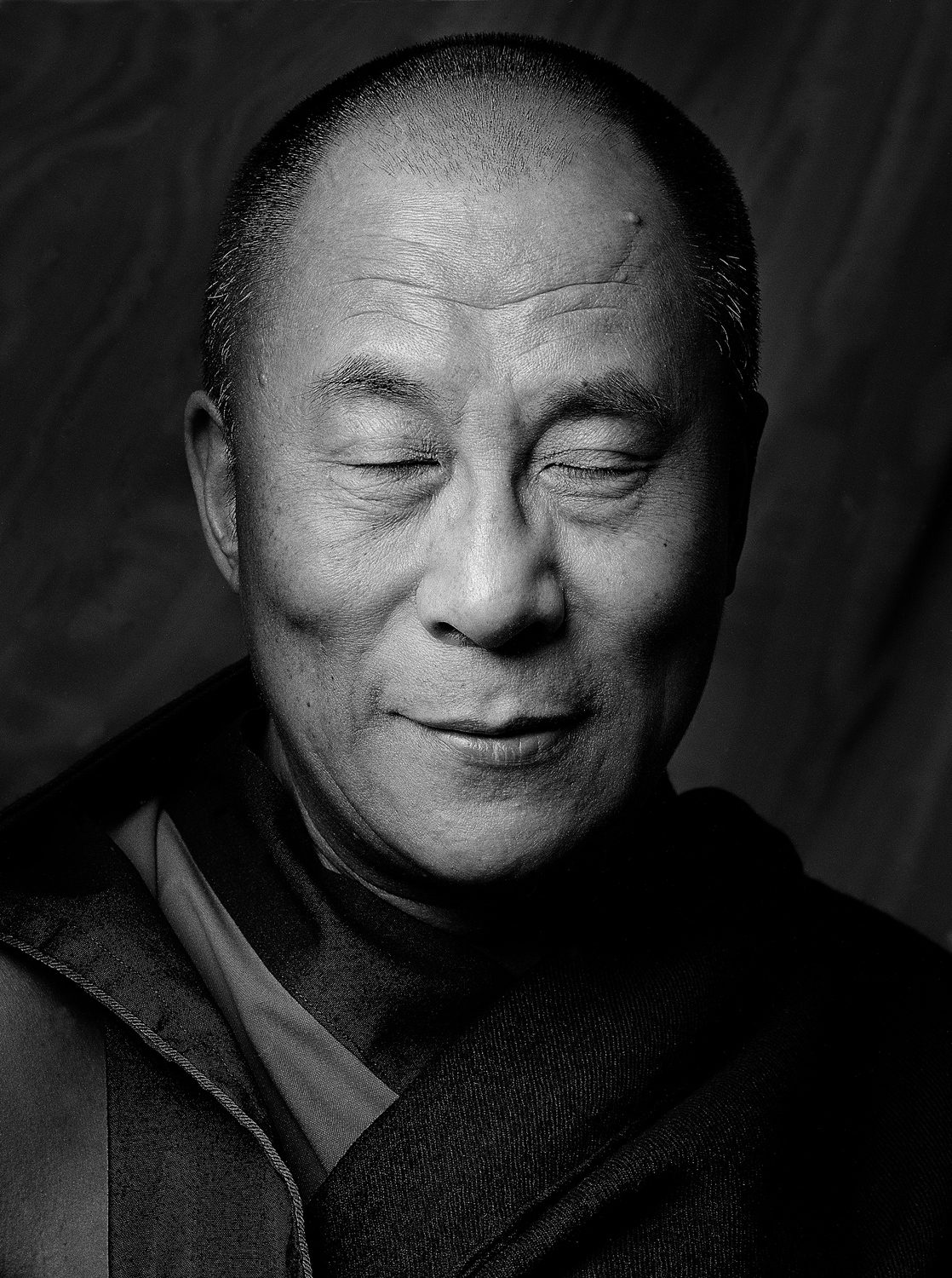 HH Dalai Lama (Eyes Closed), NY