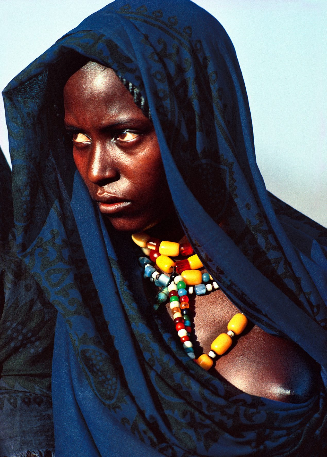 Afar Nomad Woman, Danakil Desert, Ethiopia