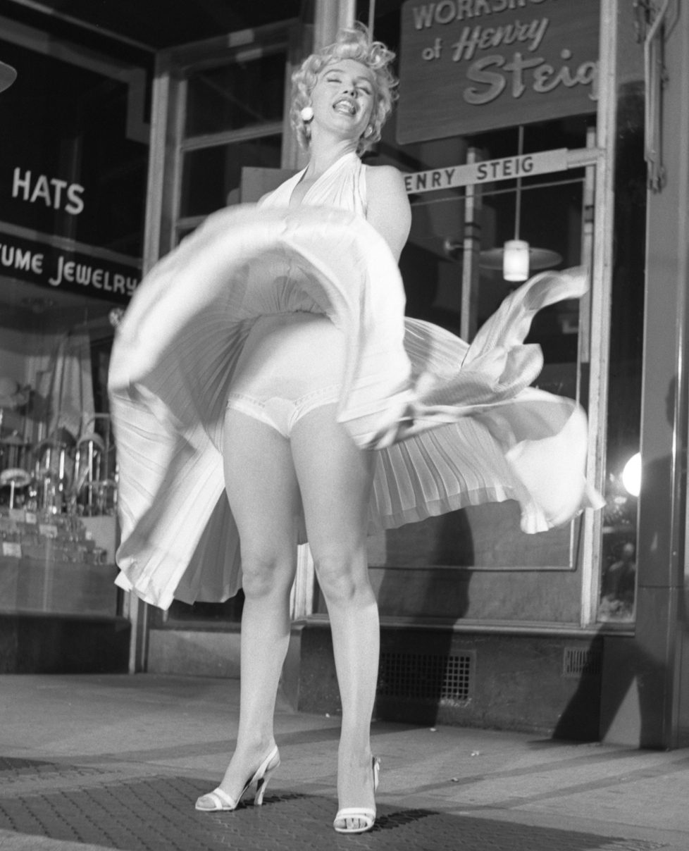 Marilyn Monroe in White I, Seven Year Itch