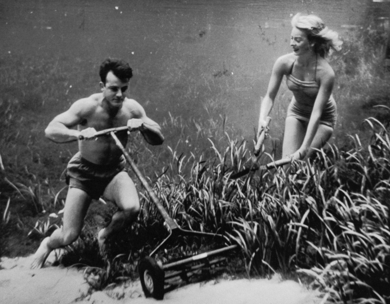 Silver Springs Underwater (mowing the lawn)
