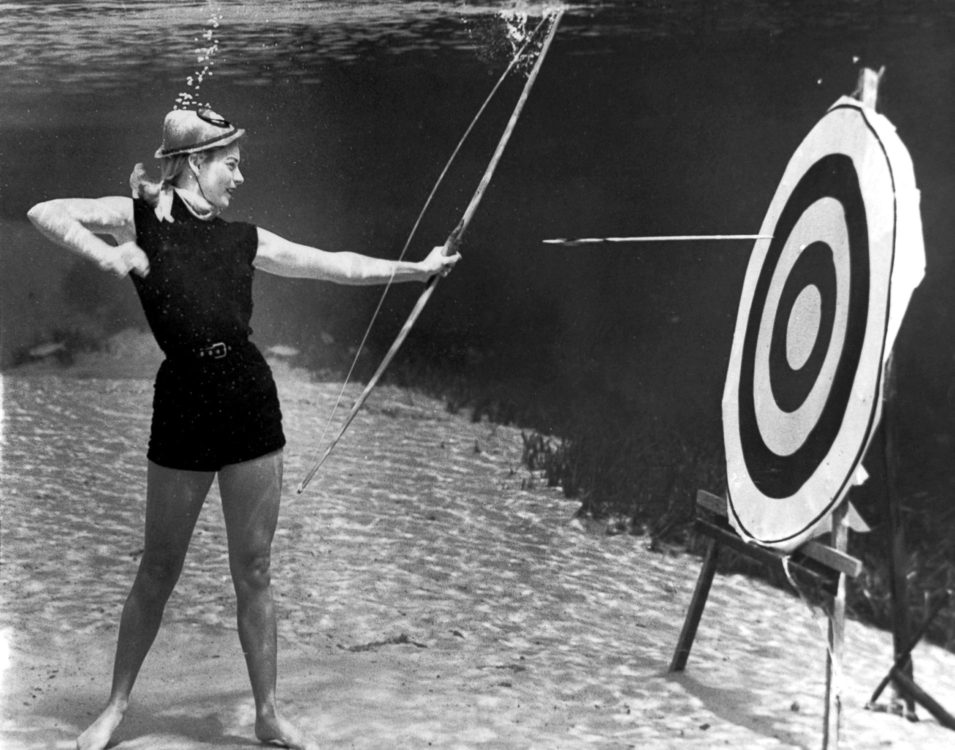 Silver Springs Underwater (Archery Action)