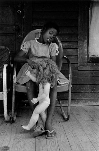 Black Americans (Girl with Doll)