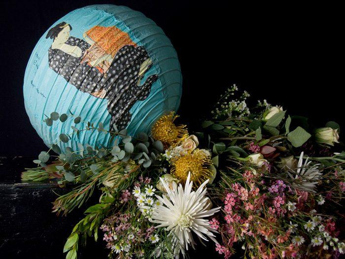 Untitled (Stll Life Lantern flowers, Broadway Studio Series)