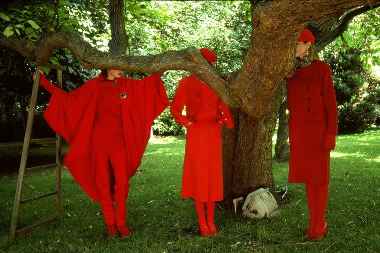 Pret a Porter, Girls in Red, Paris
