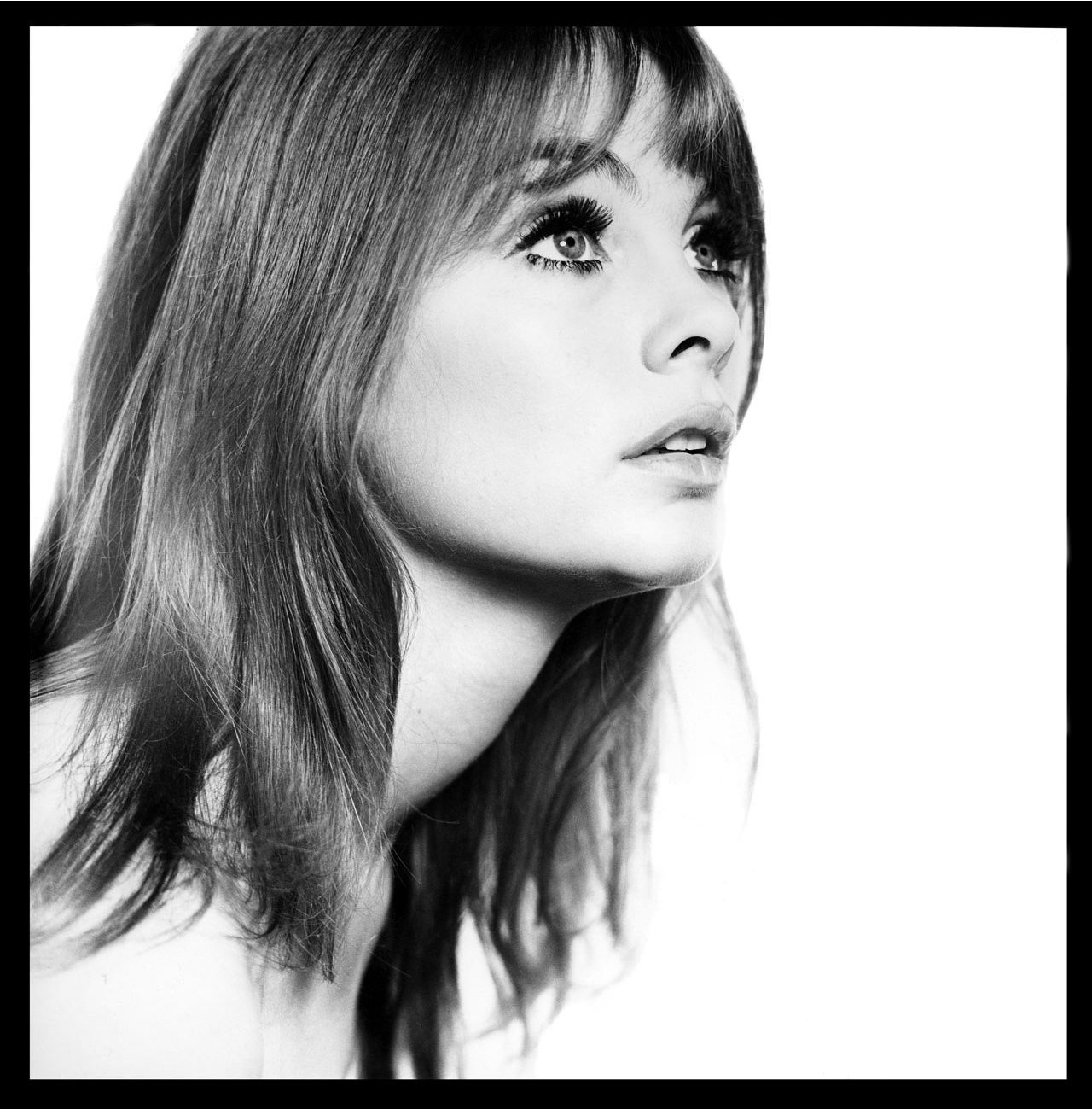 Jean Shrimpton, Head Shot, London