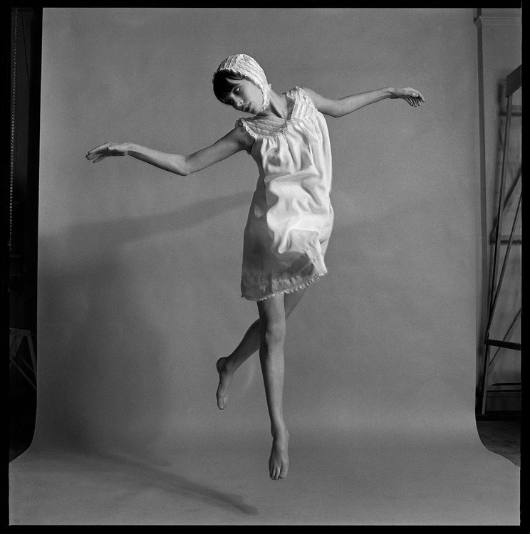 Jane Birkin Jumping, London