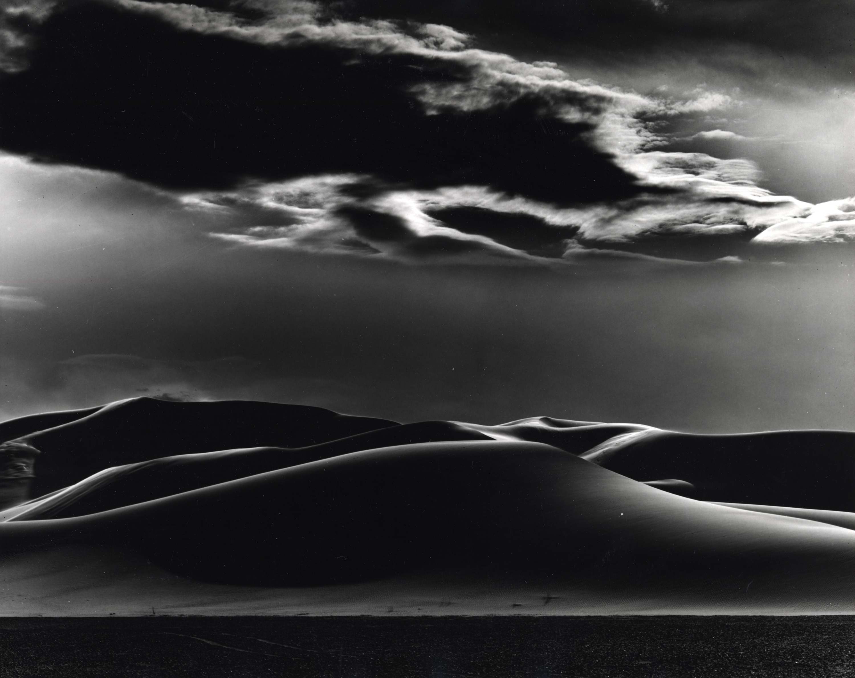 Dunes and Clouds, Shoshone