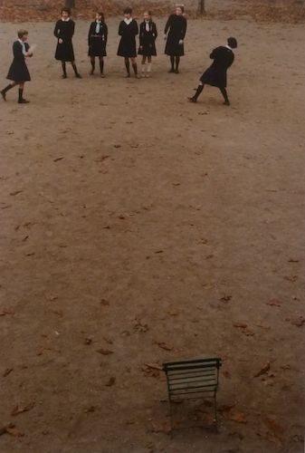 School Girls At Play, Paris Tuileries