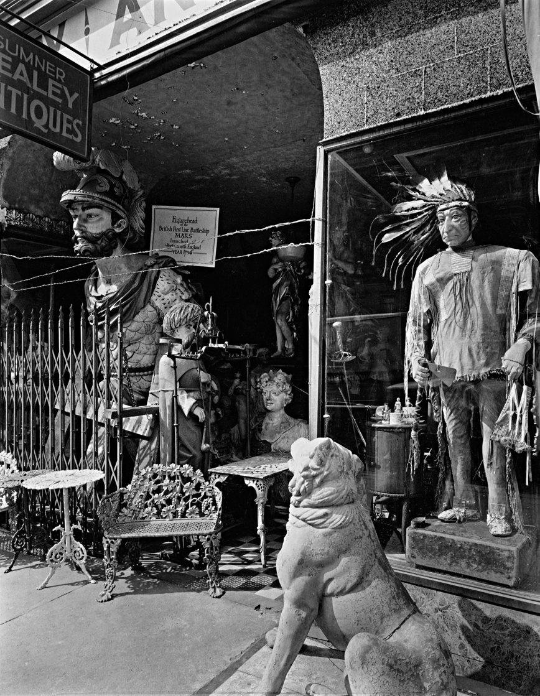 Sumner Healey Antique Shop, 942 Third Avenue and 57th Street, Manhattan. (from portfolio lll)