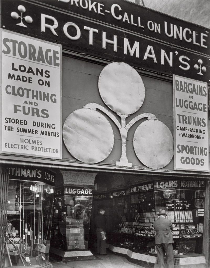 Rothman's Pawn Shop, 149 Eighth Avenue, Manhattan.