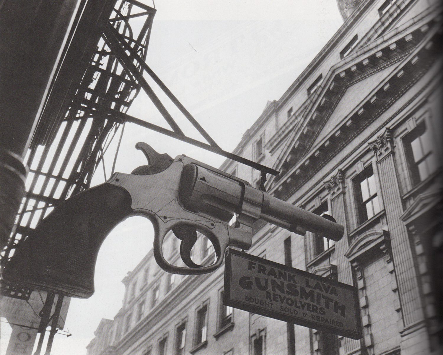 Gunsmith and Police Department, 6 Centre Market Place, Manhattan.