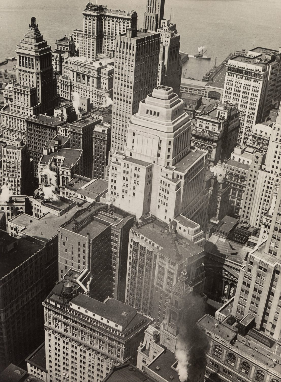 Financial District Rooftops II, Manhattan, June 9, 1938