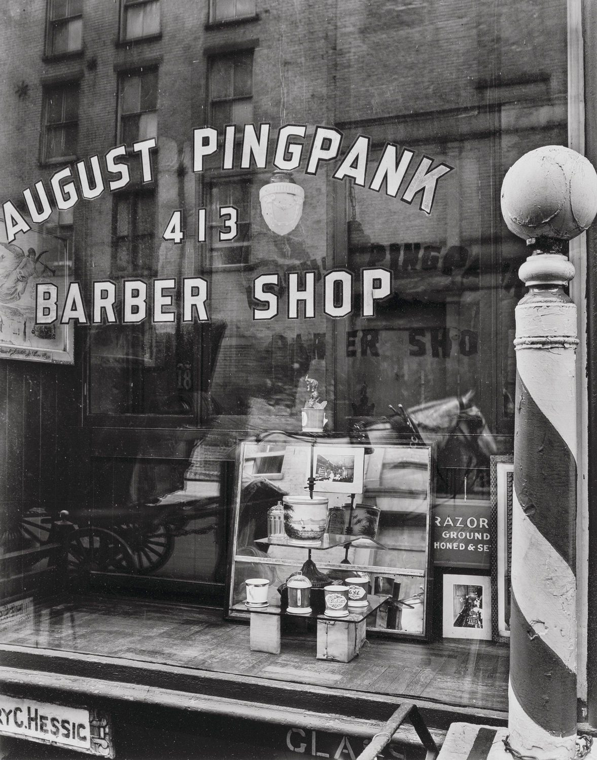 August Pingpank Barber Shop