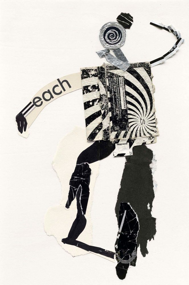 Each, Mix Media Collage Series