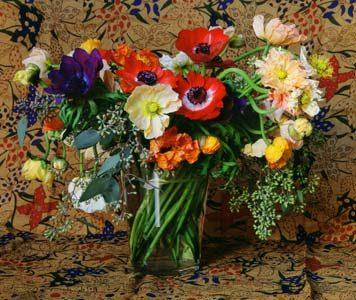 Brown Scarf Bouquet