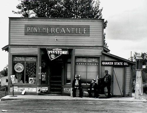 General Store, Pony, Montana