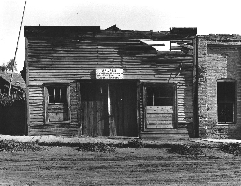 Blacksmith Shop, Virginia City, Montana