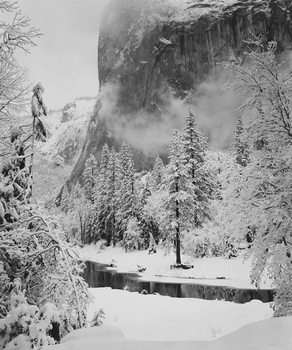El Capitan, Winter, Yosemite National Park, California