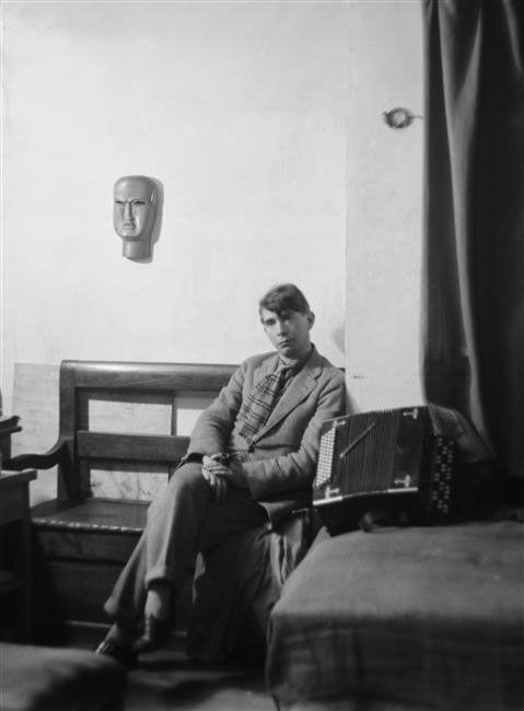 Zadkine in his Paris Studio