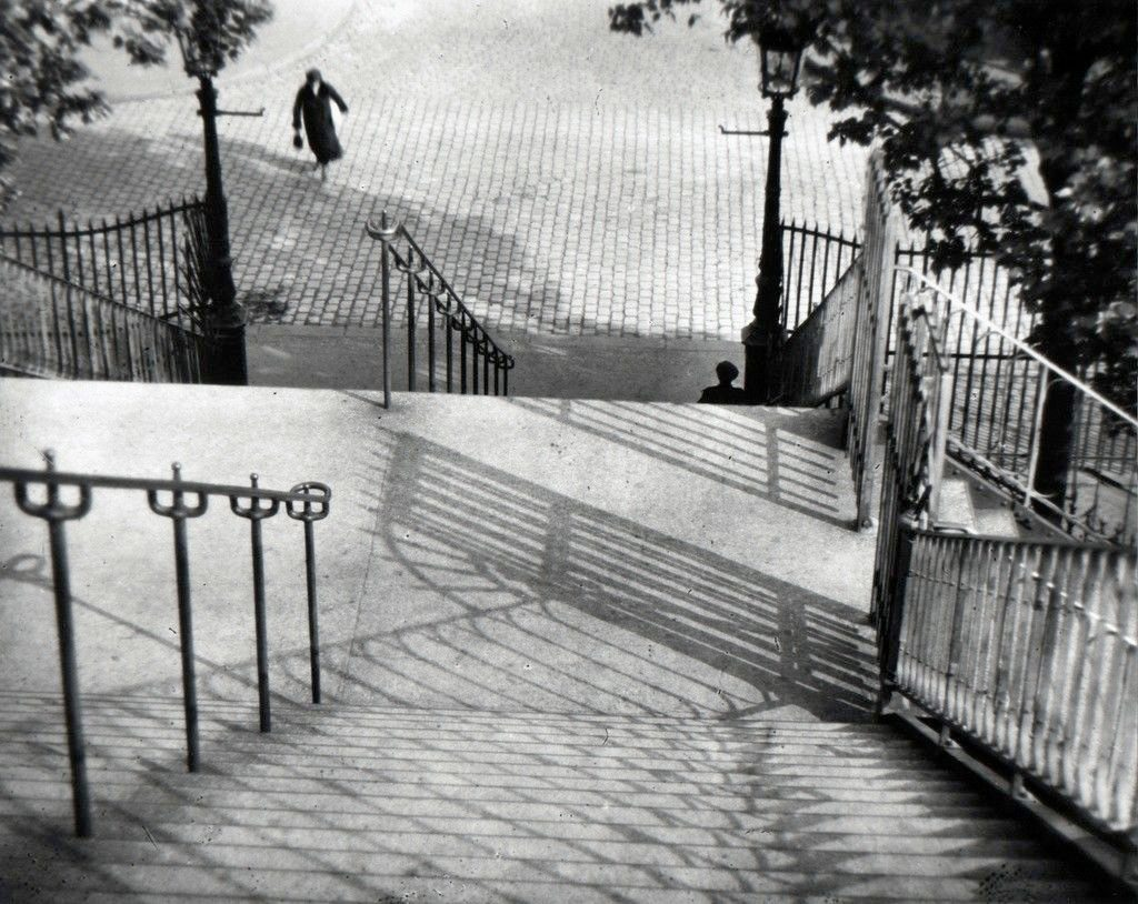 Stairs to Montmartre