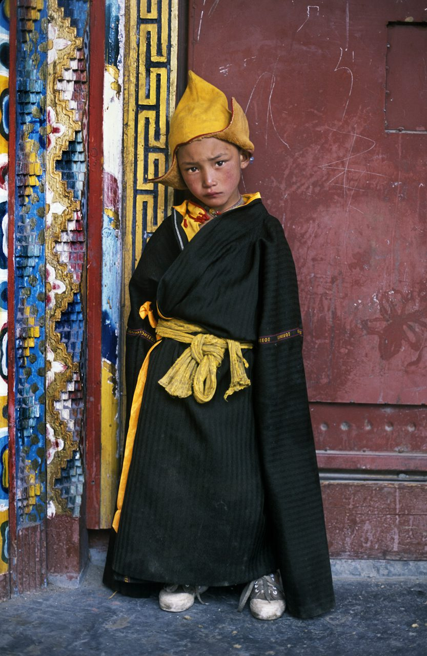 Young Pilgrim in Sneakers, Litang, Kham, Tibet