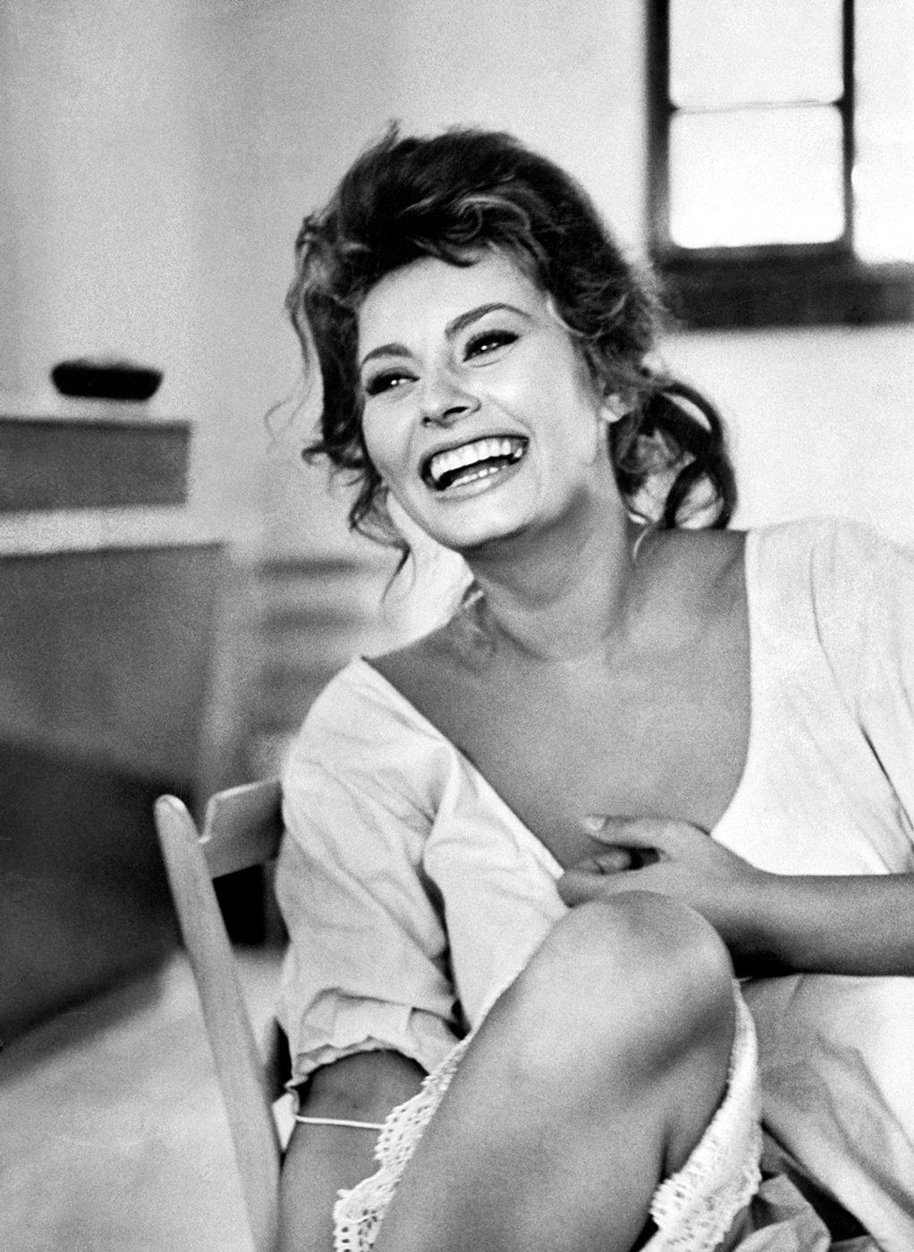 Sophia Loren in Madame