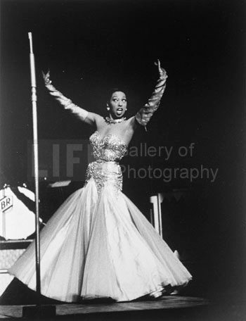 Josephine Baker at the Strand Movie Theater