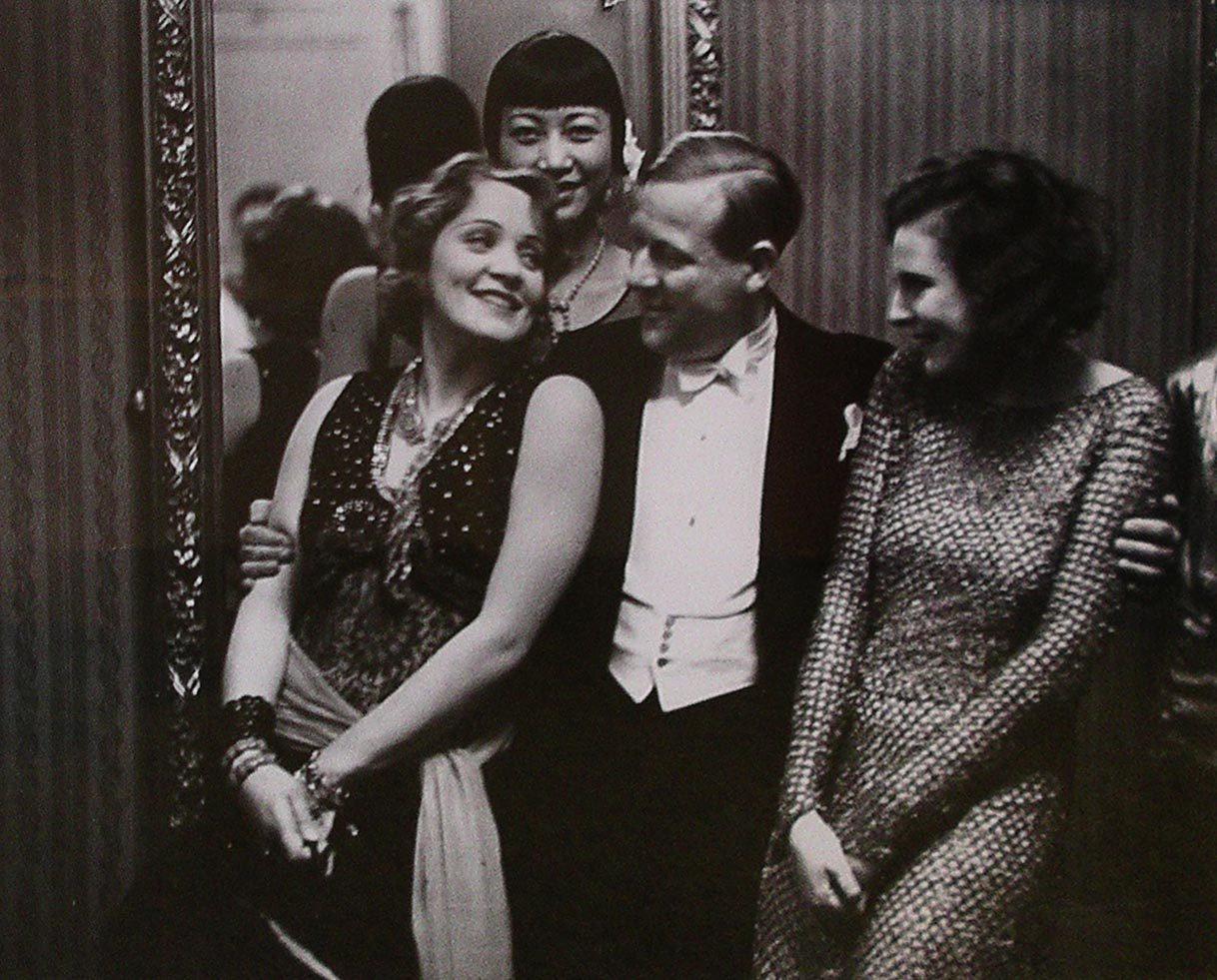 Marlene Dietrich, Anna May-Wong and Reifenstahl at a Berlin Ball