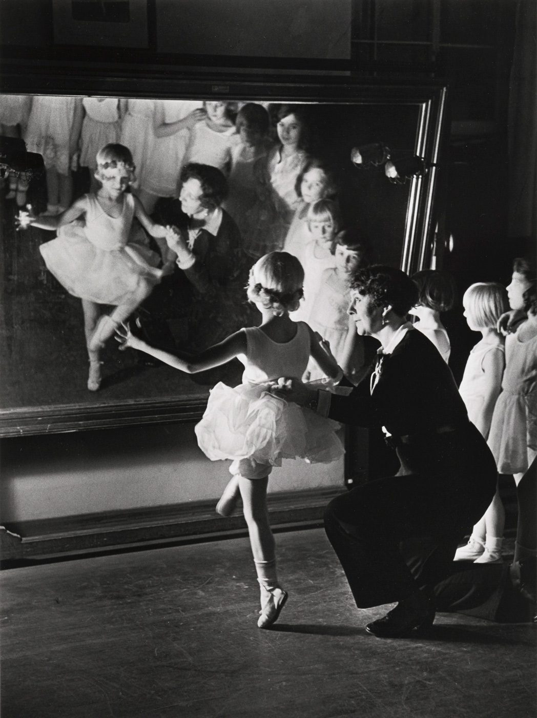 First Lesson at Truempy Ballet School, Berlin