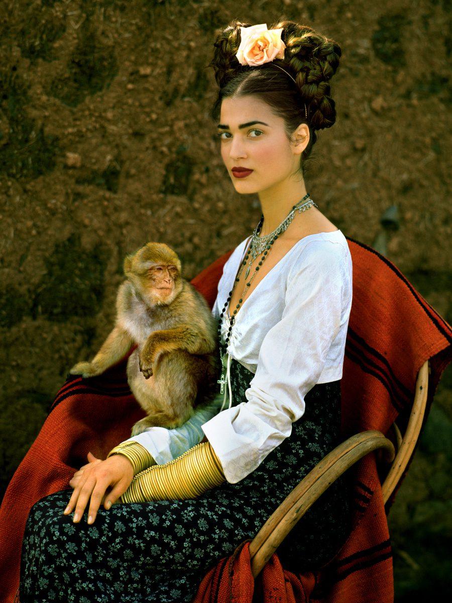 Frida Kahlo Story, 'Monkey,' Marrakech, Morocco