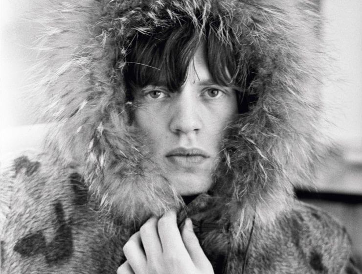 Terry O'Neill, Mick Jagger, Fur Parka