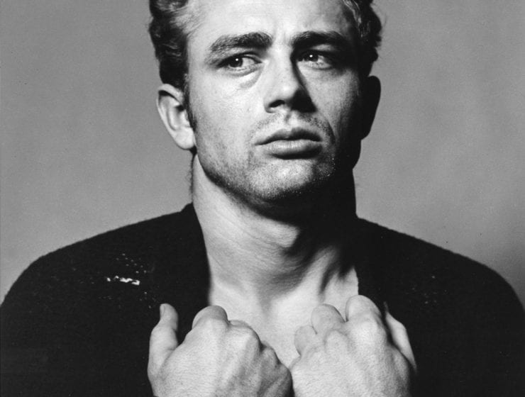 Roy Schatt, James Dean (from the Torn Sweater series)