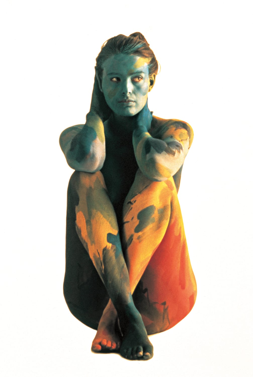 Roberto Edwards, Concepción Balmes, Chile, Cuerpos Pintados (Painted Bodies)