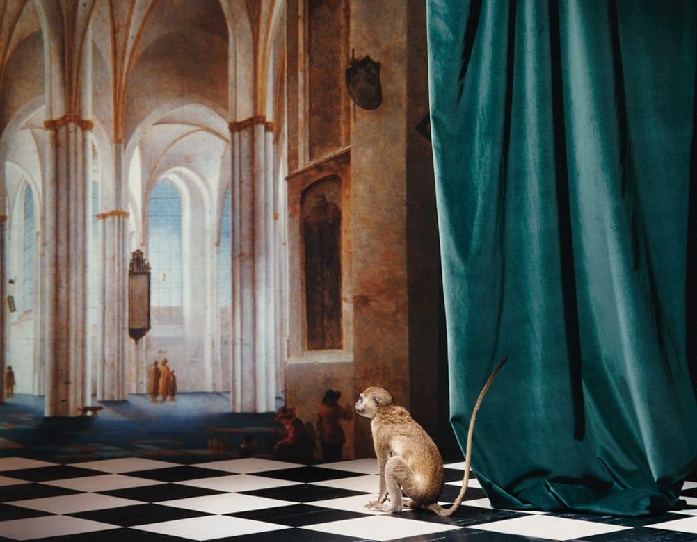 Olivier Richon, The Buurkerk at Utrecht, After Pieter Saenredam - Imitatio Sapiens Series
