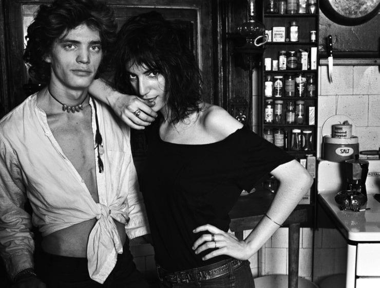 "Norman Seeff, Robert Mapplethorpe & Patti Smith, New York, ""Robert & Patti II"", 1969"