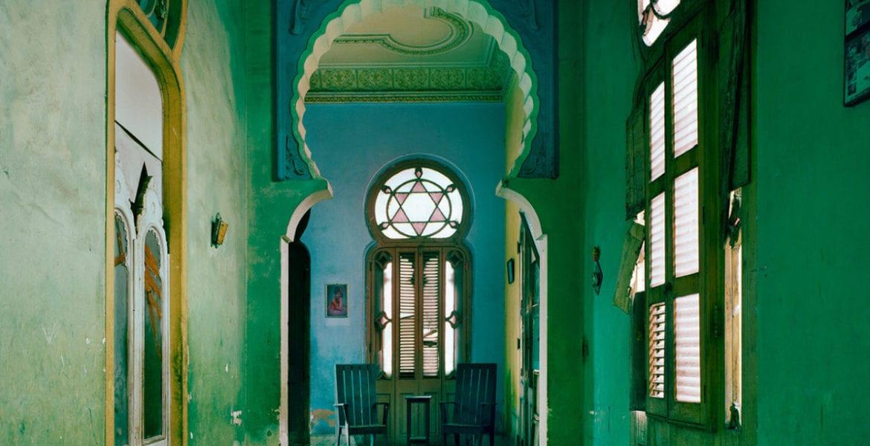 Michael Eastman, Blue Moorish Arch, Havana