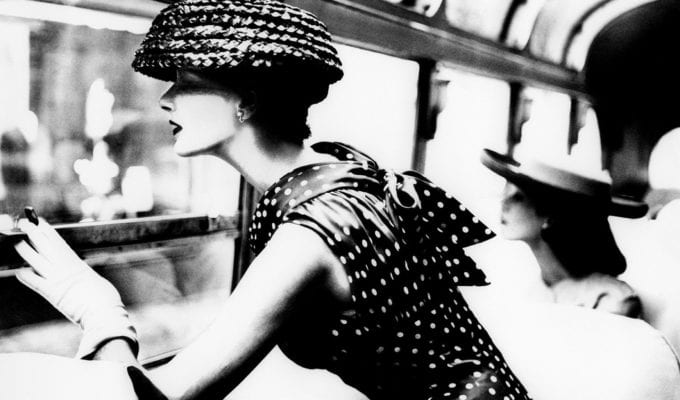 Lillian Bassman, More Fashion Mileage Per Dress, Barbara Vaughn, Harper's Bazaar, New York