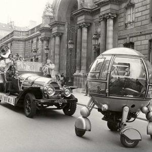 Keystone Press Agency, Vintage Cars in Paris Contest