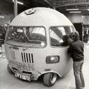 Keystone Press Agency, All Round Car, Custom Car Show, England