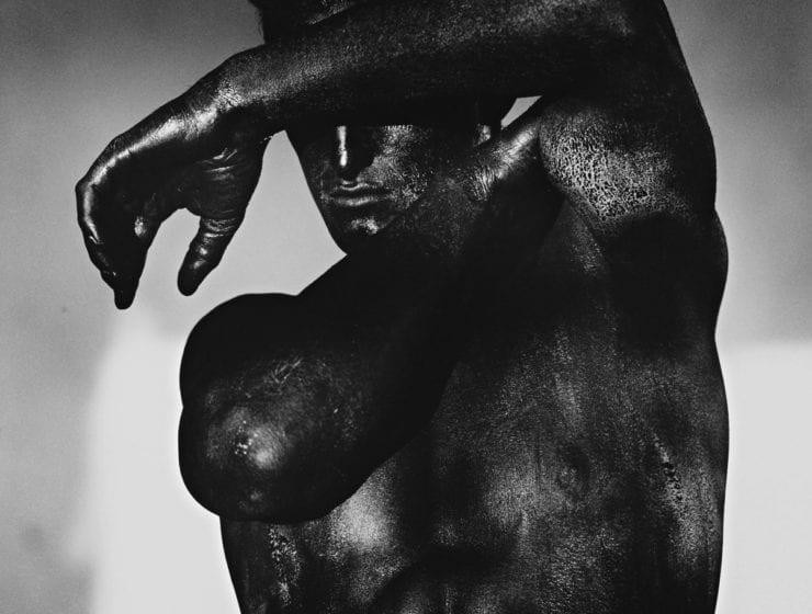 Herb Ritts, Tony - Black Torso, Los Angeles