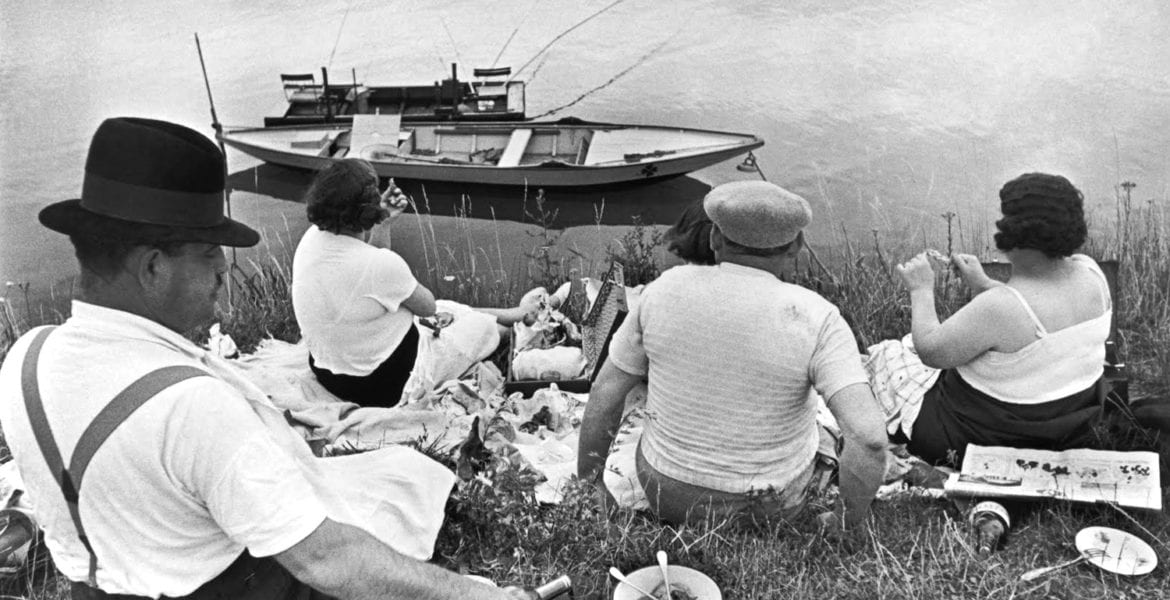 Henri Cartier-Bresson, Picnic on the Banks of the Marne