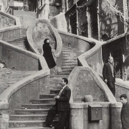 Henri Cartier-Bresson, Camondo Steps, Galata, Istanbul, Turkey